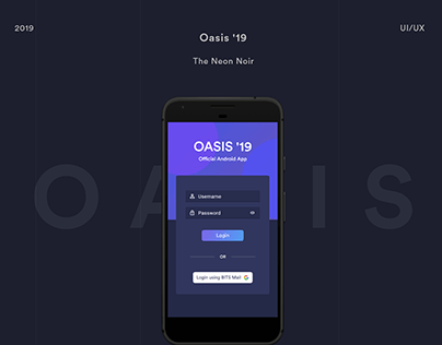 Oasis '19 Official Android App