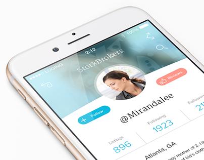 Stork Brokers iOS App