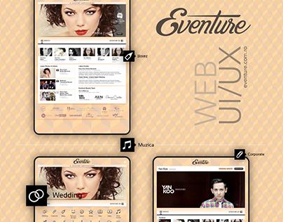 Eventure Web UI/UX