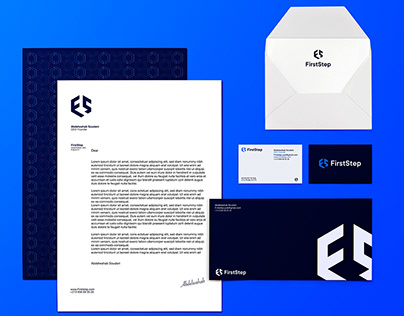 FirstStep - Visual identity
