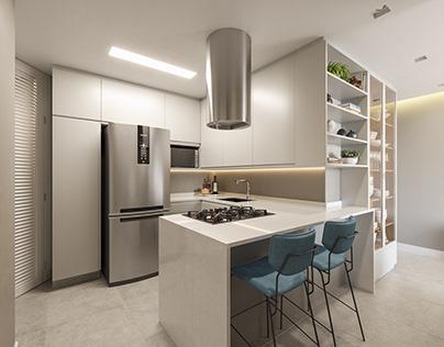 Projeto Residencial - Cozinha
