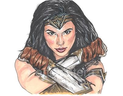 Wonder Woman. Fanart.