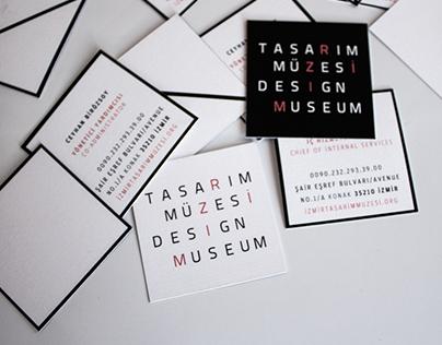 Design museum corporate identity