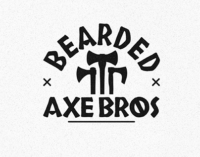 Bearded Axe Bros Logo Design