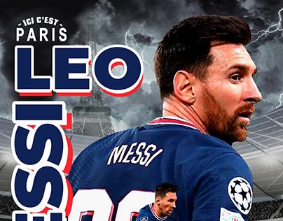 Leo Messi Poster
