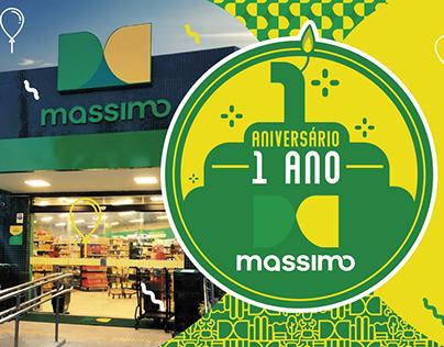 Aniversário 1 ano - Massimo