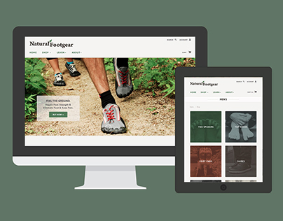 NATURAL FOOTGEAR WEBSITE