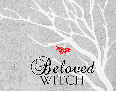 Mockup for Book cover of Beloved Witch.