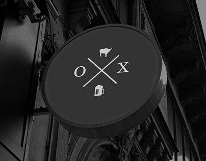 Ox Restaurant Logo Design Concept