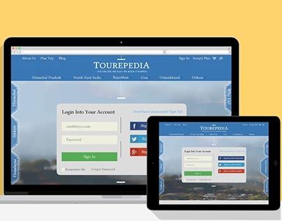 Responsive Web Design for Tourepedia