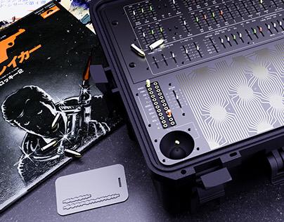 SIS|MI6 Custom synthesizer case