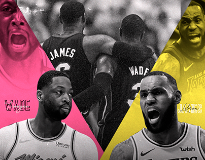 NBA - Dwayne Wade - Lebron James