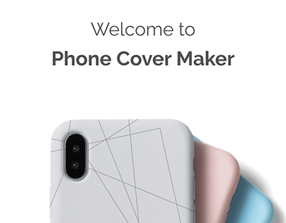 Customized Phone Cover Design E-commerce App