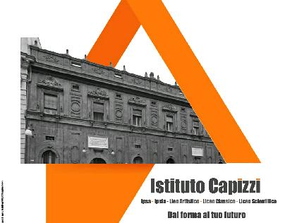 Brochure Capizzi (High school), Bronte.