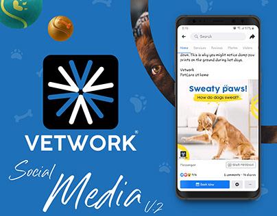 Vetwork(Pet Care App) - Social Media V.2