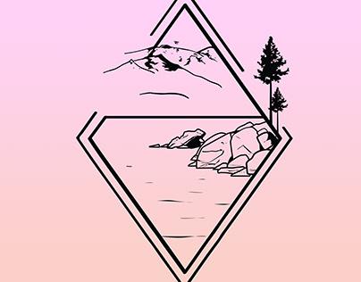 Tahoe Diamond illustration