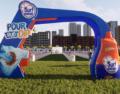 Surf Excel Pour Rub Dip