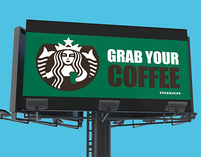 Starbucks Billboard Design