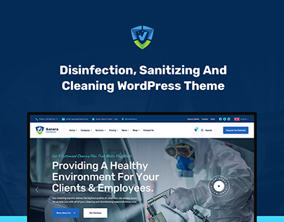Sanera - Sanitizing And Cleaning WordPress Theme