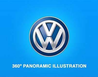 VW 360º Illustration