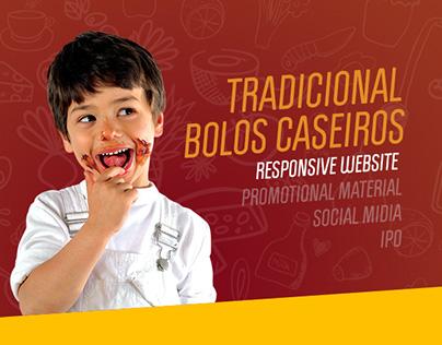 Tradicional Bolos Caseiros - Website