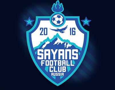 Логотип футбольного клуба Саяны