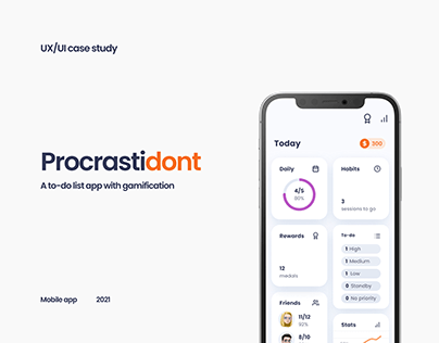 Procrastidont - UX/UI Case study