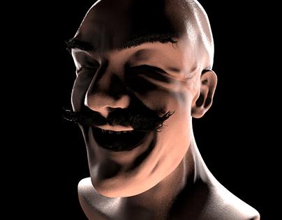 Humanoid Head 2