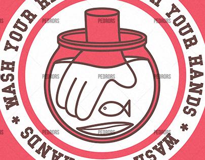 Covid-19 Stickers
