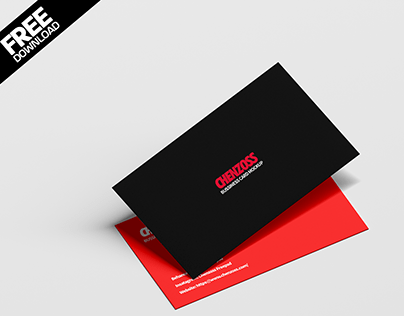 Business Card Free Mockup