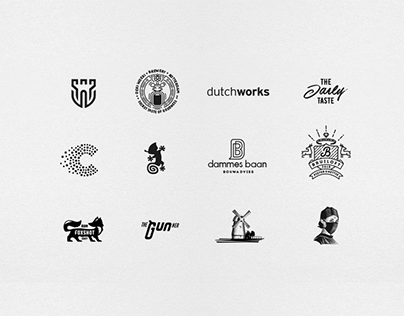 Black and White Logo's