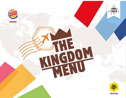 Burger King - The Kingdom Menù