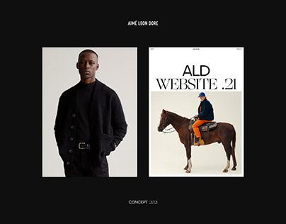 Aimé Leon Dore - Website