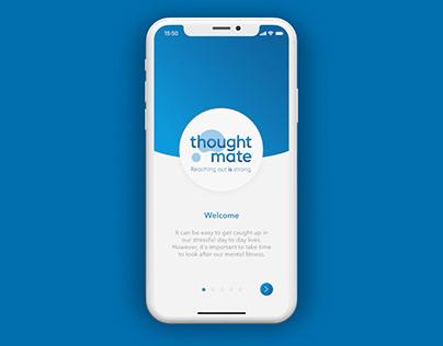 Men's Mental Health App - 'thoughtmate'