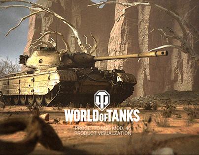 World of Tanks: Progetto M35 mod. 46 visualization