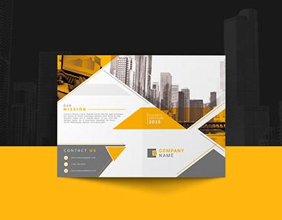 MODERN Corporate Bi Fold Brochure