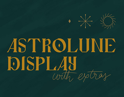 Astrolune Display fonts on Creative Market