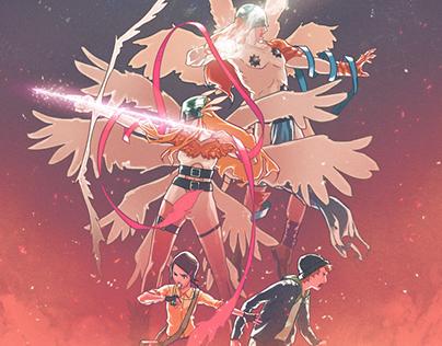 Arrow & Knuckle - Digimon