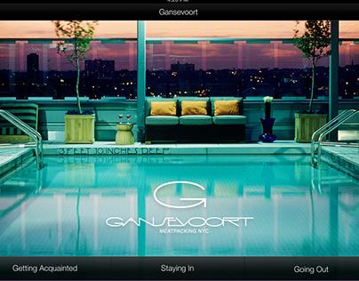 Gansevoort Hotel iOS App