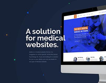 Medix - Medical Website Design
