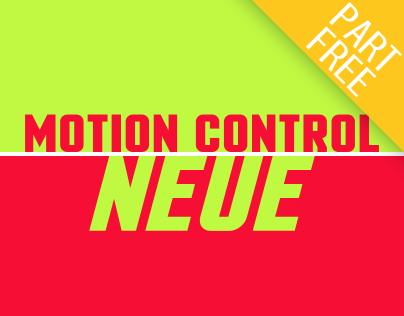 Motion Control Neue: Back Again, Sturdier!