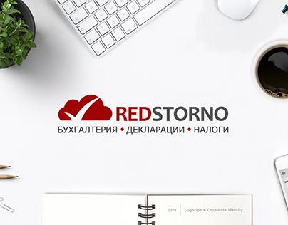 REDSTORNO corporate identity | landing page