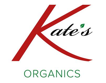 Kate's Organics Logo - Europe