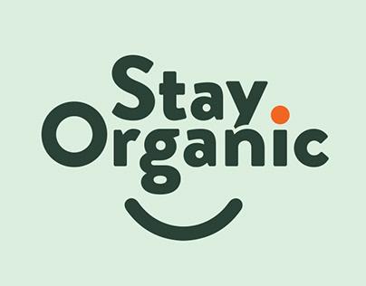 Stay Organic Imagen Corporativa