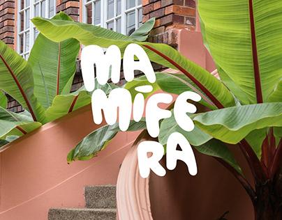 Mamifera -Identidad de Marca