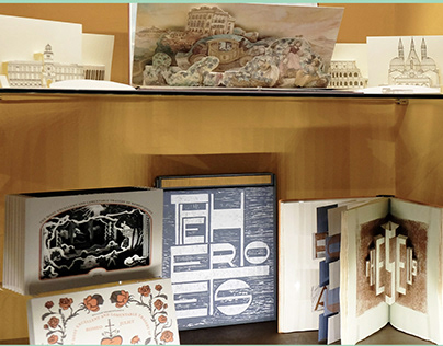 Our 3D Kirigami cards at MUSLI Museum - Turin, Italy