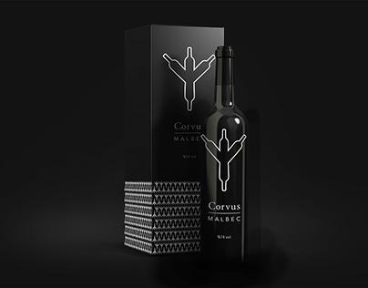 Corvus Vineyard - Logo & Packaging Design