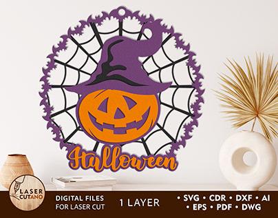 Pumpkin Halloween SVG Cut Files