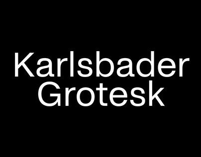 Karlsbader Grotesk 400 + Italic