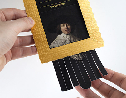 """Hello from Banksy"". Cards for Rijksmuseum"
